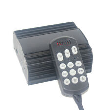 100w Emergency Siren Amplifier with Control Pad For Ambulance Medic,