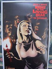 Night of the Living Dead The Beginning # 1 Blood Red foil edition Ltd 550 Coa