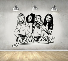 Little mix girl pop band filles chambre mur art autocollant/autocollant