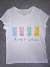 Happy Easter PEEPS shirt, girls size 10/12, NWOT
