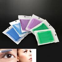 100Pcs Cotton Swab Micro Brush Tool For Eyelash Extension or Microblading Tattoo