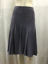 Boss by Hugo Boss FR 38 UK 8 IT 40 US 6 Fits Aus 10 12 Purple Pure Silk Skirt