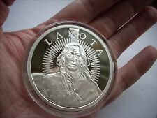 5 OZ SILVER COIN LAKOTA INDIAN CRAZY HORSE *PROOF 2011 LIMITED EDITION #RIM AOCS