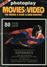 THE NEW PHOTOPLAY MOVIES & VIDEO MONTHLY - MAY 1981 (SUPERMAN 2)