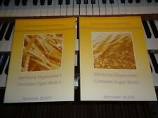 Sämtliche Orgelwerke Band 1+ 2 Mendelssohn Bartholdy /Orgel-Noten/Kirchenorgel