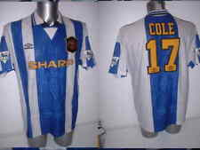 Manchester United Andy Cole SHIRT SOCCER JERSEY Adulto Grande Top Vintage Man Utd