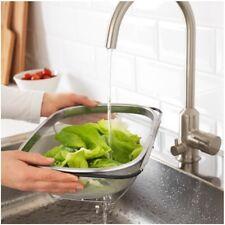 Colapasta e verdure acciaio inox scolapasta per lavello con manici estraibili