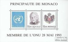 Monaco block60 (complete issue) used 1993 UN-Accession