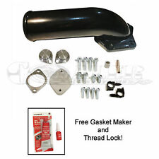 08-10 Ford EGR Valve Cooler Delete Kit High Flow Intake Elbow 6.4L Power Stroke