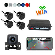 150°Wireless WIFI Car Rear View Cam+Radar HD Night Vision for iPhone IOS Android