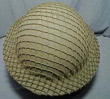 """WWII BRITISH CANADIAN MADE OD7 GREEN 1/2"""" HELMET NETS FOR BRODIE OR US ARMY M1"""