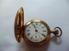 Antique Columbia 6 Size Hunter Case Pocket Watch