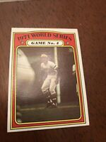 1972 Topps Roberto Clemente Pittsburgh Pirates #226 Baseball Card