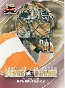2011/12 ITG Between the Pipes #68 ILYA BRYZGALOV (Philadelphia Flyers)