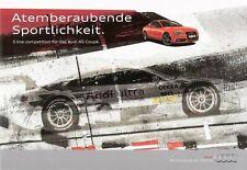 Prospekt / Brochure Audi A5 Coupé S line competition 04/2013