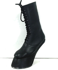 costume Heelless Hooves made to order to your size with real iron horseshoes .