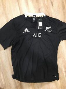 BNWT New Zealand All Blacks Rugby Adidas Jersey size XXL