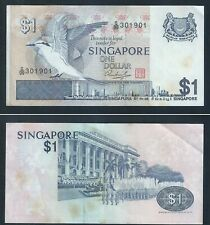 Banknote -Singapore Bird Series $1 PAPER CURRENCY MONEY G/99-301901  (#124A)