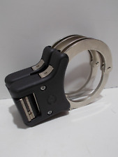 More details for ex police issue foldable speedcuffs handcuffs +key (e6)