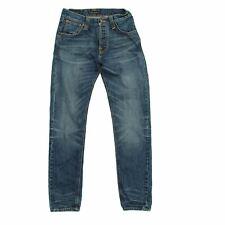 Nudie Jeans Men's Jeans W 29 in L 32 in Blue, 100% - cotton