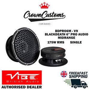 VIBE BLACKDEATH BDPRO6M-V9: Blackdeath 6 Inch Pro Audio Midrange