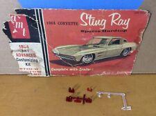 Tail Lamp Light Marker 64 1964 Corvette Sting Ray 1/25 Original model car part