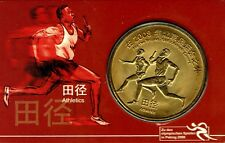 Peking.Olympische Spiele 2008 Gedenkmünze,Vergoldet,Münzen,Coin,Rarität,Top