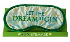 Let The Dream Be Gin Sleep Eyemask, Joke Gifts, Xmas Secret Santa Present #CA