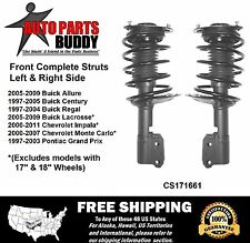 2 Front Complete Struts with Mount & Spring Lifetime Warranty Free Shipping