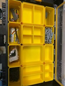 DEWALT TOUGH SYSTEM SMALL & LARGE NESTING BINS