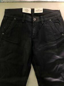 Pantaloni Donna Mason's Colore Nero Lucido Taglia 29