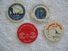 1993 Hawaiian Pogs Milkcaps Bottle Caps Slammers Navy Exchange Boys & Girls