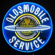 "Oldsmobile Service Auto Dealer Neon Sign 24""x24"""
