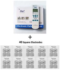 Value Pack - Electronic Pulse Massager + 40 Electrode Pads