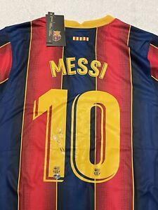 "Lionel Messi Signed Auto Barcelona Nike Jersey Inscribed ""Leo"" COA"