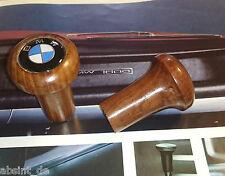 BMW /02 2002 Neue Klasse E21 E12 2002 E3 3,0Si  E9 2,5 -3,0 CS Schaltknauf Holz