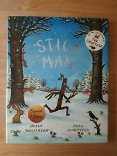 SIGNED 1ST EDITION STICK MAN. JULIA DONALDSON & AXEL SCHEFFLER (GRUFFALO). FIRST