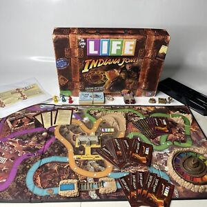 Game of Life Indiana Jones Edition Board Game 2008 Near Complete