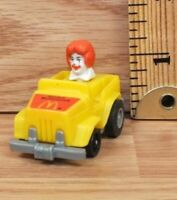 Vintage McDonald's Happy Meal Ronald Car Toy / Figure Only **READ**
