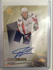 2015-16 Upper Deck SP Authentic Limited Autograph /99 John Carlson