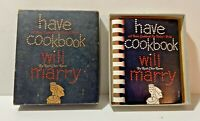 Have Cookbook Will Marry Book Bridal Shower Wedding Gift Ruth Chier Rosen 1957