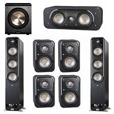 Polk Audio Signature 7.1 System with 2 S60 Tower Speaker, 1 Polk S30 Center Spea