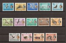 ASCENSION 1963 SG 70/83 USED Cat £55