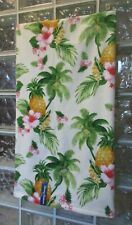 Tommy Bahama 4Pc Set Tropical Towels~Summer Vacation Pineapples~2 Bath & 2 Hand