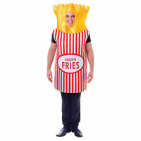 Bristol Novelty Unisex Adults French Fries Costume BN1012