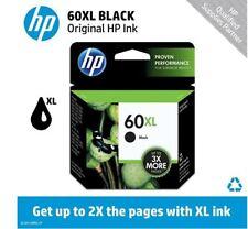 HP 60XL Black Ink Cartridge (CC641WN) EXP 2020