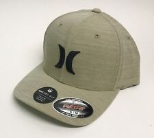 wholesale dealer ce152 7d1f1 Hurley DF Cutback Hat Nike Dri-Fit Flexfit S M Khaki Black New
