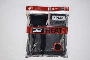 32 Degrees Heat Men's Performance Thermal Pants Base Layer Leggings 2PCK - NWT