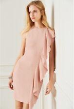 New *NEXT* (size Uk 18) Pink Waterfall Romantic Elegant Gorgeous Dress BNWT