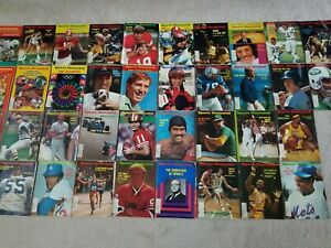Lot Of 38 Sports Illustrated 1972 and 1973 Vintage Magazines